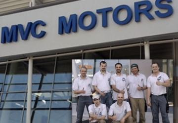 Arbeiten für MVC Motors