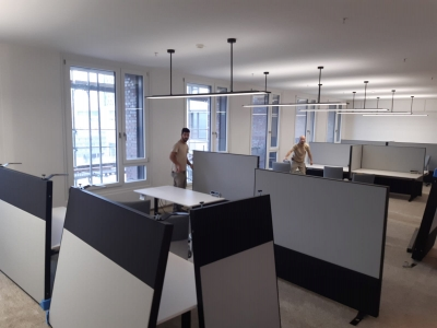 Montage Bürogebäude Wien