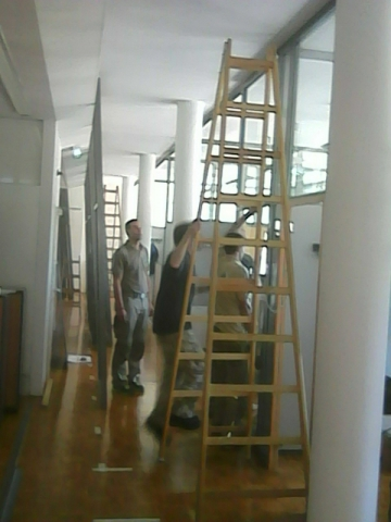 Büromöbeltrennwand Montage, Graz